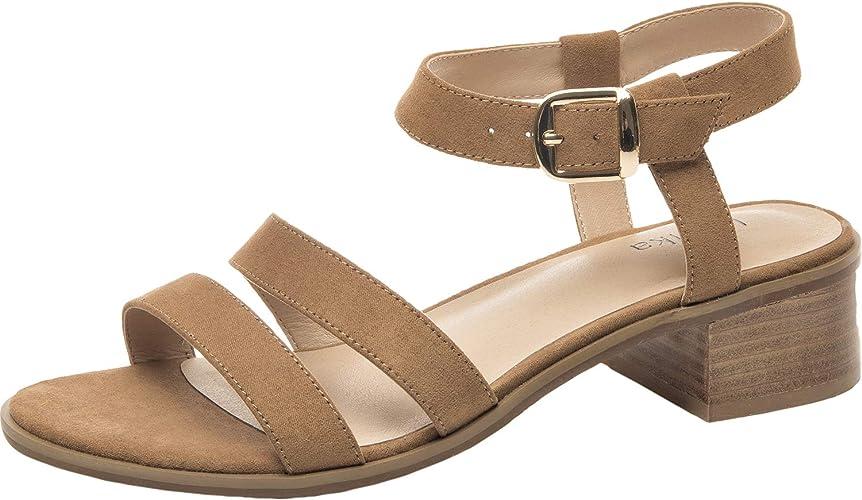 Wide Width Heeled Sandals