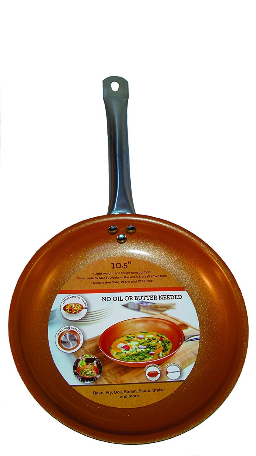 Cooper Chef Frying Pan Cook Non Stick 10 5 Quot Ceremic