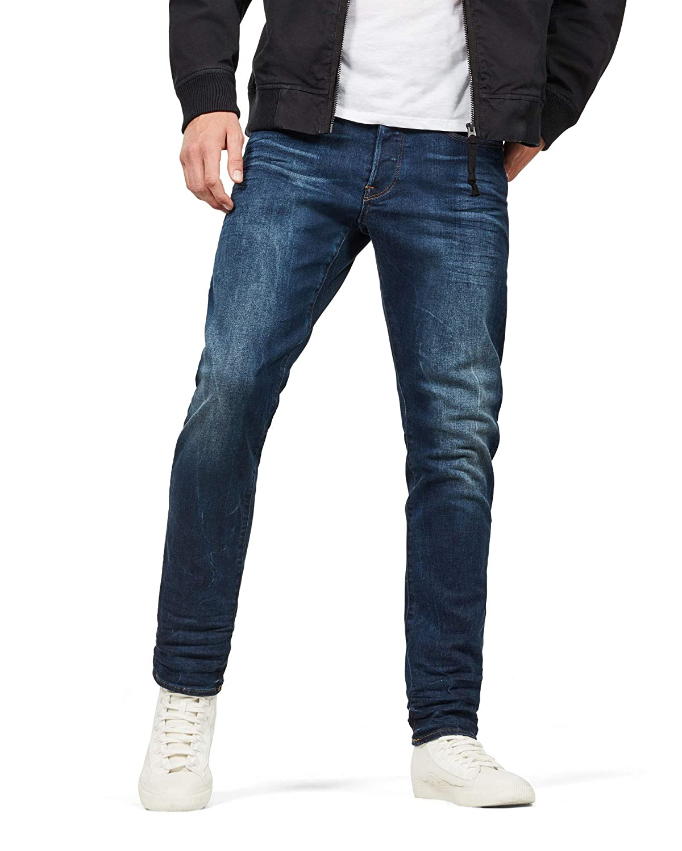 TALLA 31W / 32L. G-Star Raw 3301 Straight Tapered Jeans para Hombre