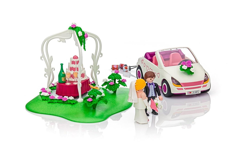Pareja de novios con coche y tarta nupcial. Especial tarta de boda: Amazon.es: Juguetes y juegos