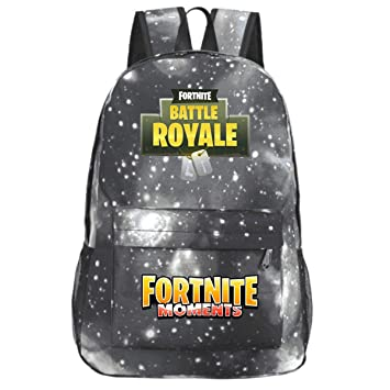 f432c1293e5e Kid Girl Boys Backpack Hype Fortnite Battle Game Bastion Night Travel Bag  Embroidered Royale Backpack Printed School Rucksack Bag Camping Hiking  ...