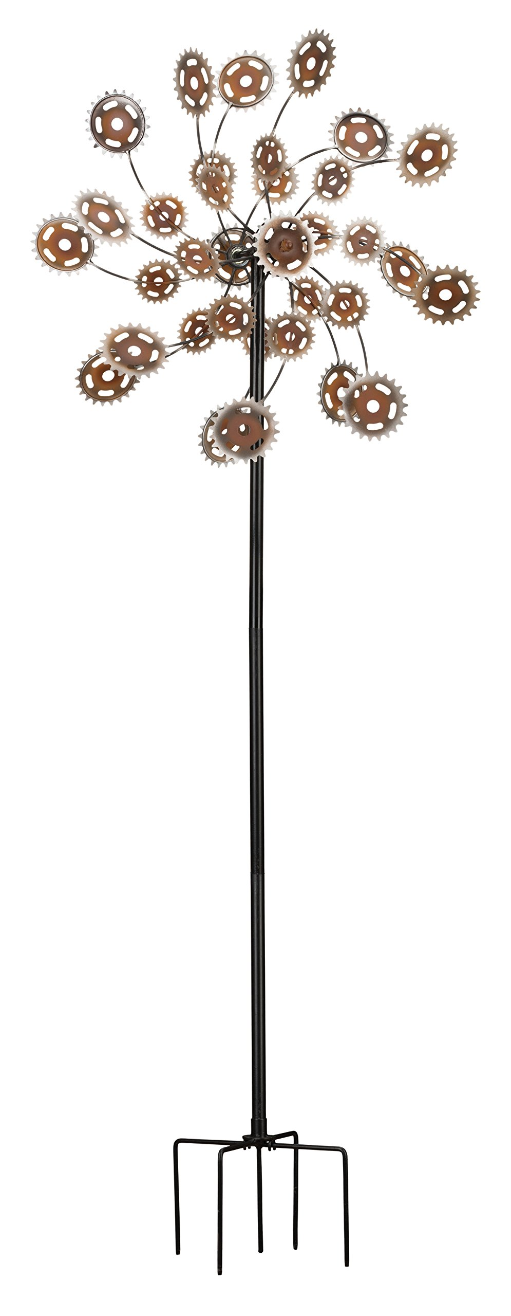 Regal Art & Gift Rotating Rustic Gears Kinetic Stake, 26'' by Regal Art & Gift
