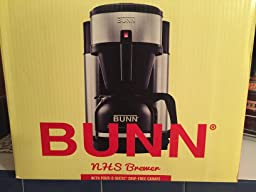How Many Scoops Of Coffee For Bunn Coffee Maker : Amazon.com: BUNN NHS Velocity Brew 10-Cup Home Coffee Brewer: Drip Coffeemakers: Kitchen & Dining