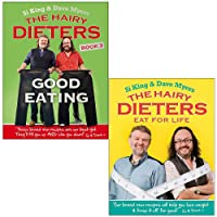 The Hairy Dieters Good Eating & The Hairy Dieters Eat for Life By Hairy Bikers 2 Books Collection Set