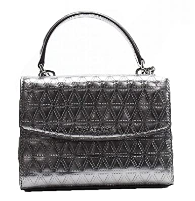 4e7a375240e4 Amazon.com  Michael Kors Ava XS Mini Crossbody Metallic Specchio Gunmetal   Shoes