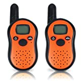 Kids Walkie Talkies ,1 Pack Walky Talky 3-Mile Range 22-Channel FRS/GMRS Two-Way Radio