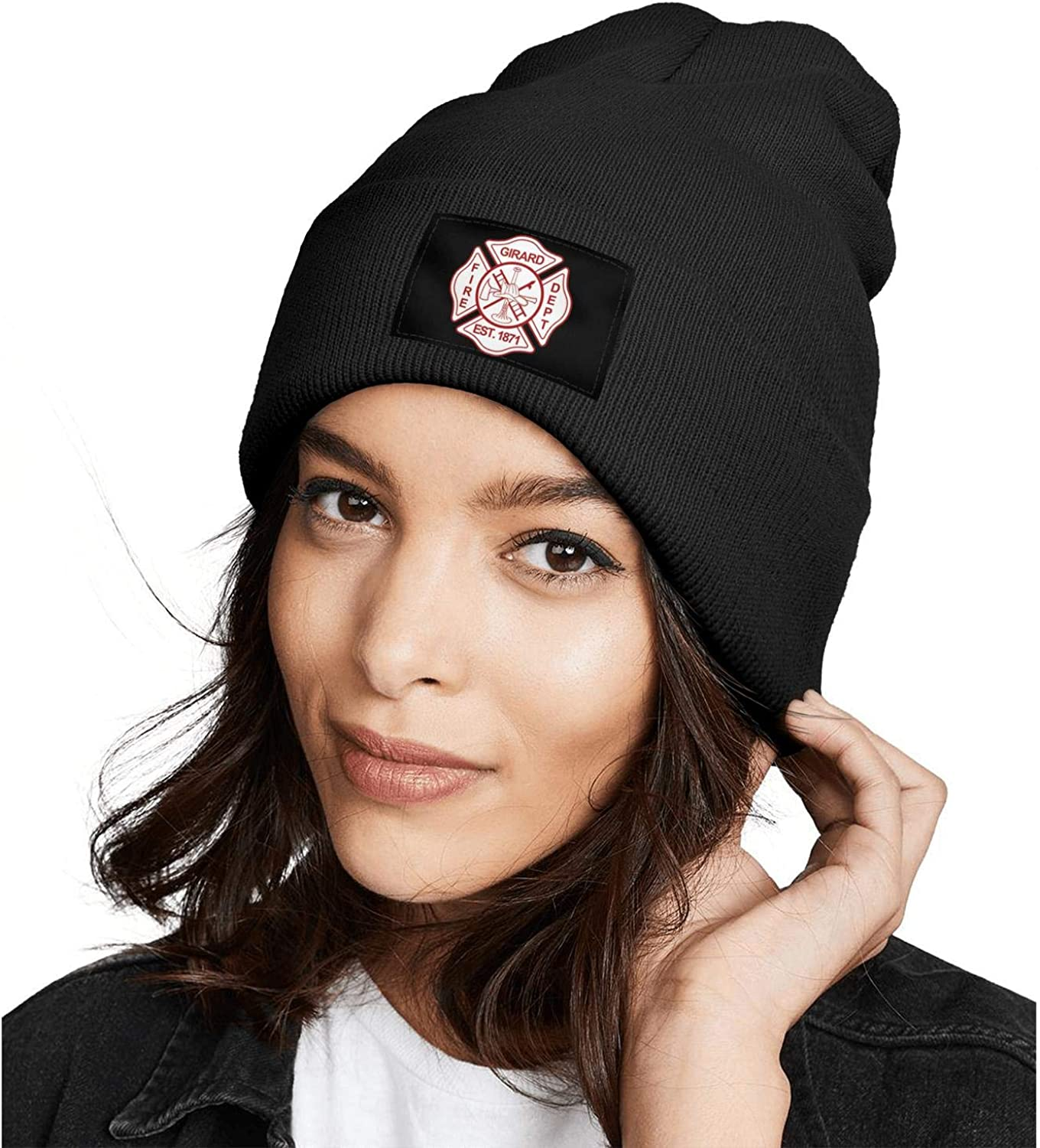DXQIANG Kilgore-Fire-Department Men Women Winter Beanies Hat Multifunction Skull Knit Cap