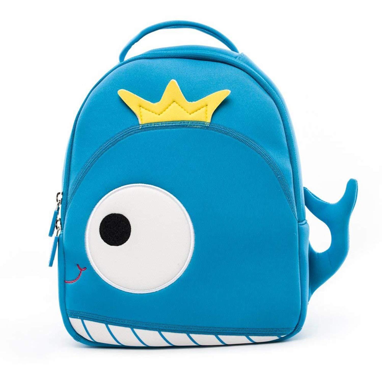 LS Ling Shi 子供用バックパック - 幼稚園 スクールバッグ 1-5-6歳 子供用 アニメ 小さなバッグ 子供用 かわいい 軽量 カジュアルバッグ (27x16x32cm) スクールバックパック B07P7SG19X ブルー