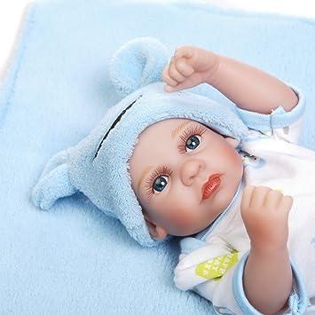 Amazon.es: Minidiva Muñeca recién Nacido, 100% Alive Hecho a Mano ...