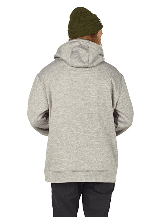 Burton Oak Pullover Hoody Large Monument Heather at Amazon Mens Clothing store: