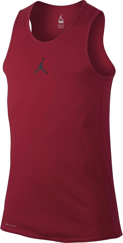 Nike 861494-687 Camiseta sin Mangas de Baloncesto, Hombre, Rojo ...