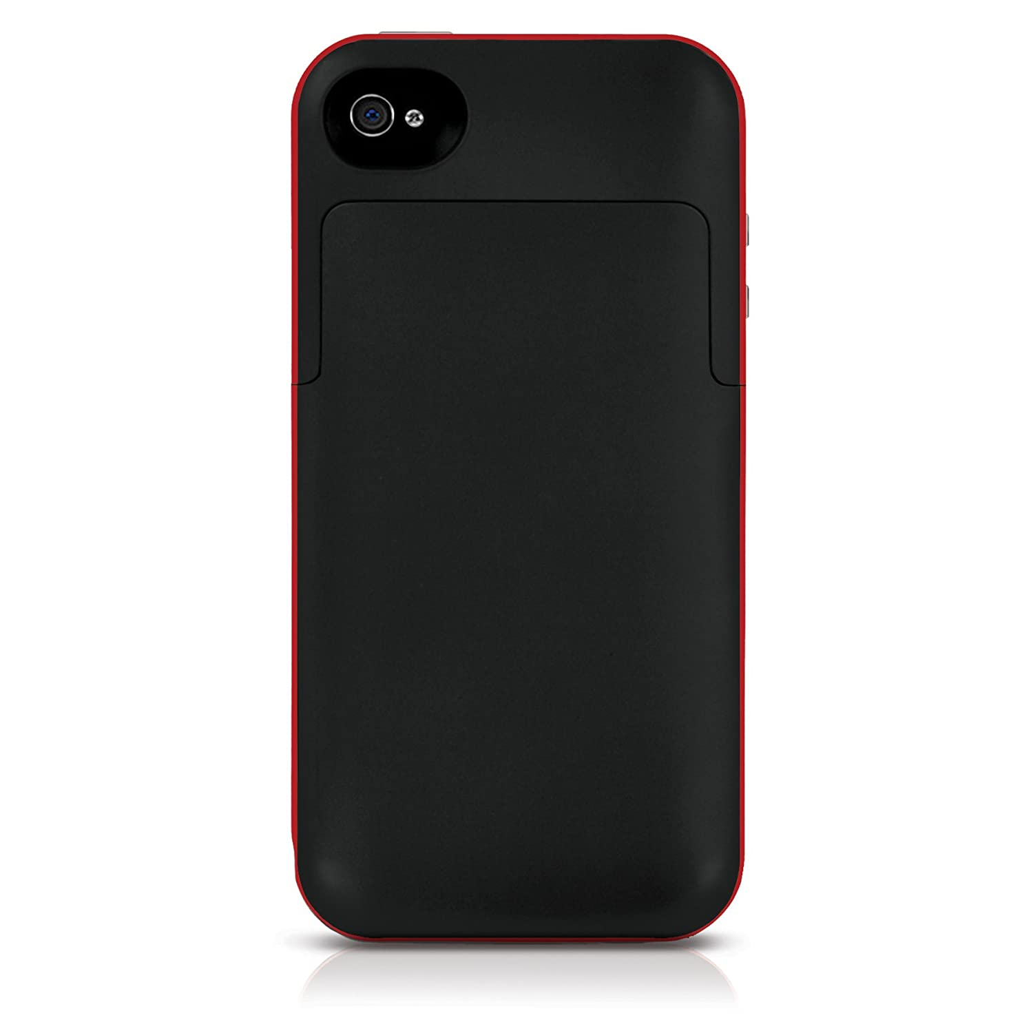 on sale 2d1d4 ddaaf Mophie Juice Pack Plus Case For iPhone 4 And 4S - Red