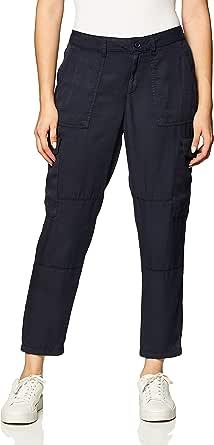 Daily Ritual Amazon Brand Women's Tencel Patch Pocket Cargo Pant