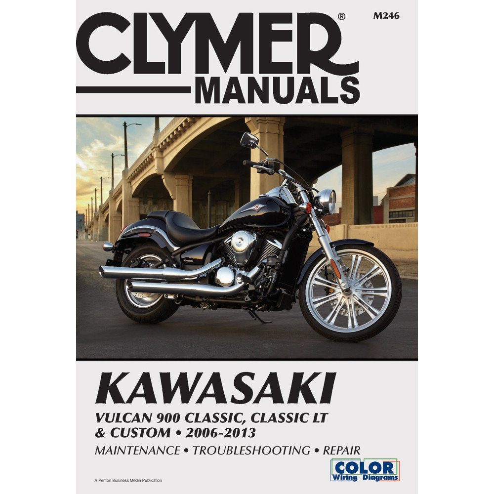 Clymer Kawasaki Vulcan 900 Classic, Classic LT & Custom (2006-2013) (53036)
