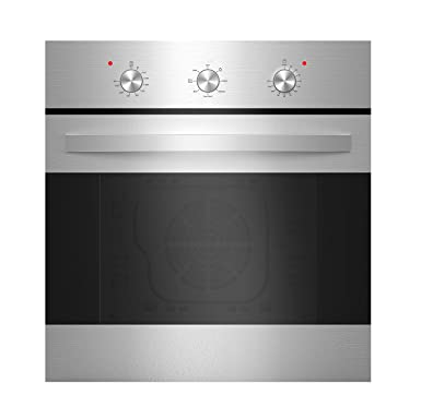 Empava 24 Stainless Steel 6 Cooking Functions Electric Built-in Convection Single Wall Oven EMPV-B14LTL