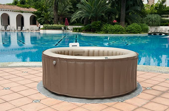 Spa hinchable ensueño Bubble & chorro de 4 plazas MSPA ...