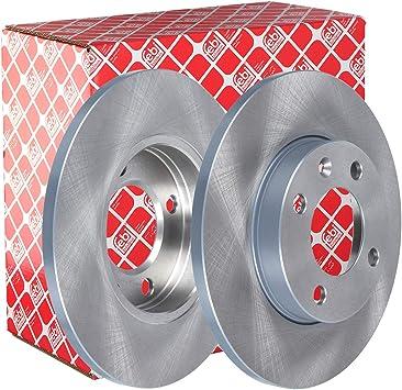 Febi Bilstein 02121 Bremsscheibensatz 2 Bremsscheiben Auto