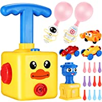 Balloon Powered Cars Balloon Launcher, Party Supplies Preschool Educational Aerodynamic Cars Toy Set with Pump for Kids…