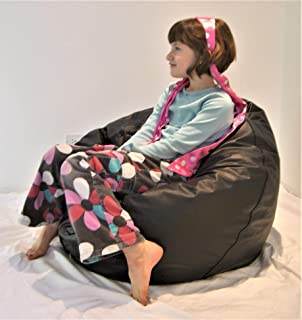 product image for Comfy Bean Beanbag Small Vinyl - Black