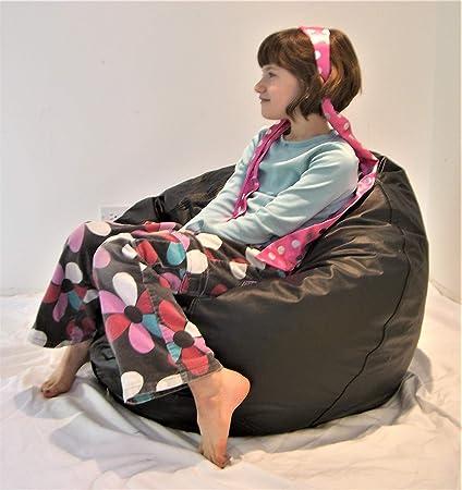 Pleasing Amazon Com Comfy Bean Beanbag Small Ultra Vinyl Kitchen Frankydiablos Diy Chair Ideas Frankydiabloscom