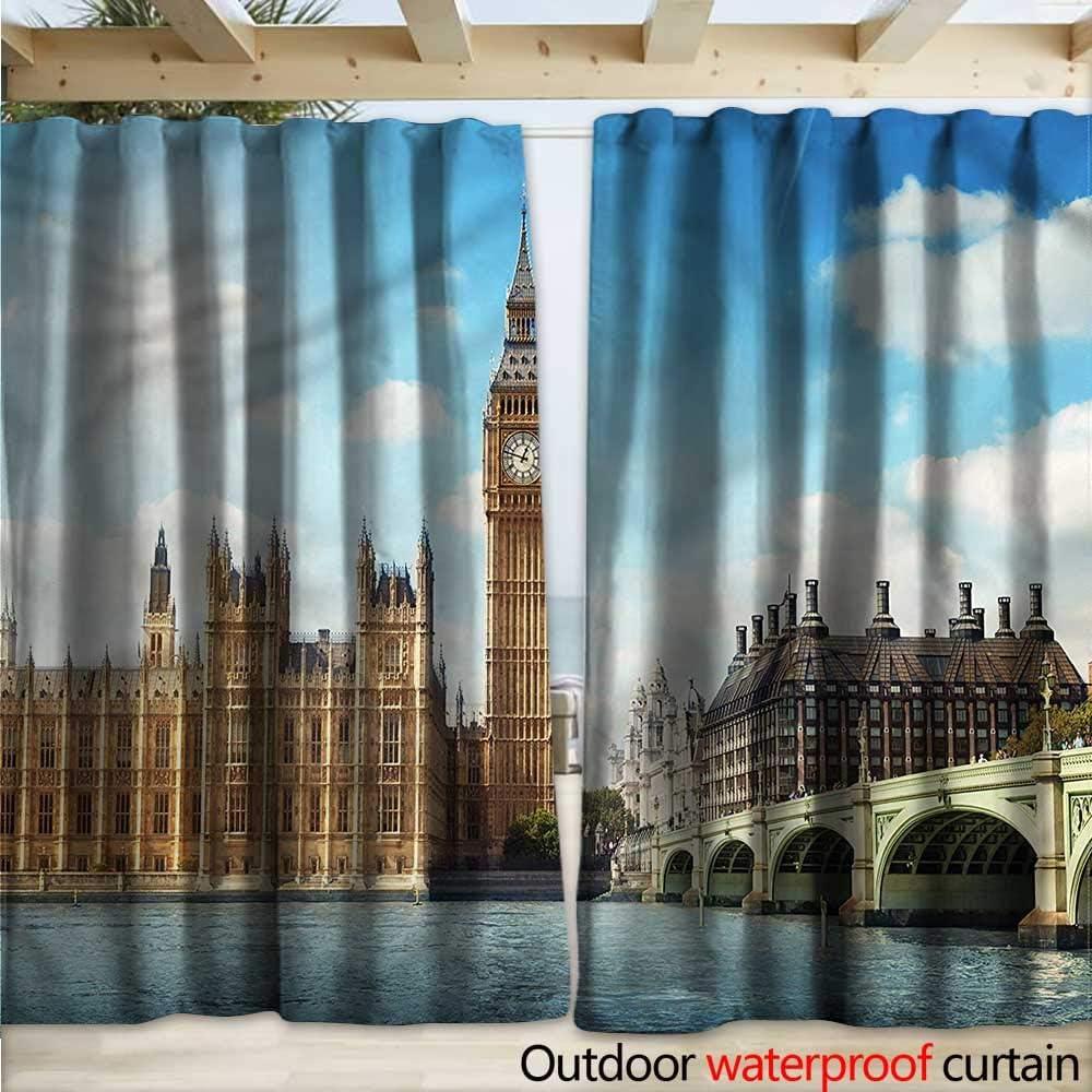 warmfamily London - Cortinas (108 x 96 cm), diseño de Puente de ...