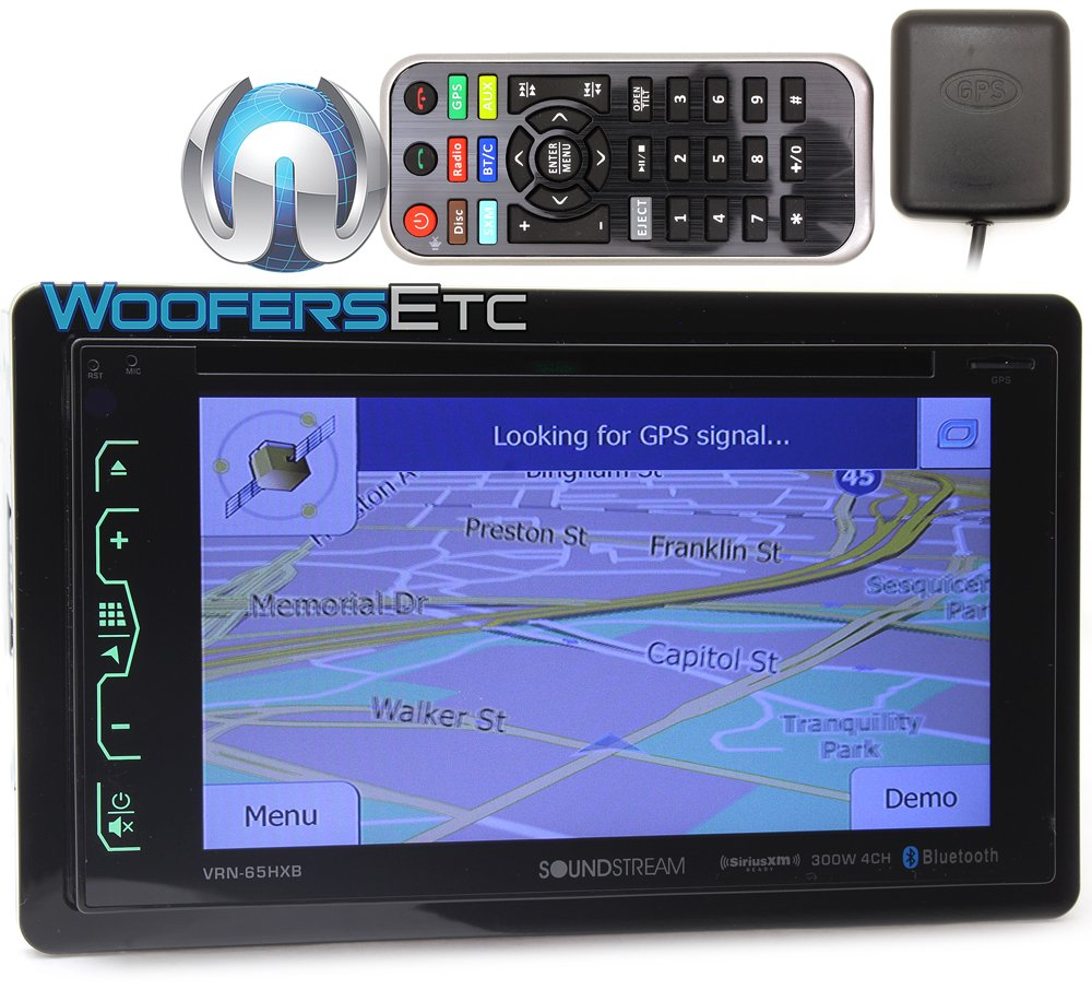 Soundstream 6.2-inch Touchscreen Double DIN Multimedia Player}
