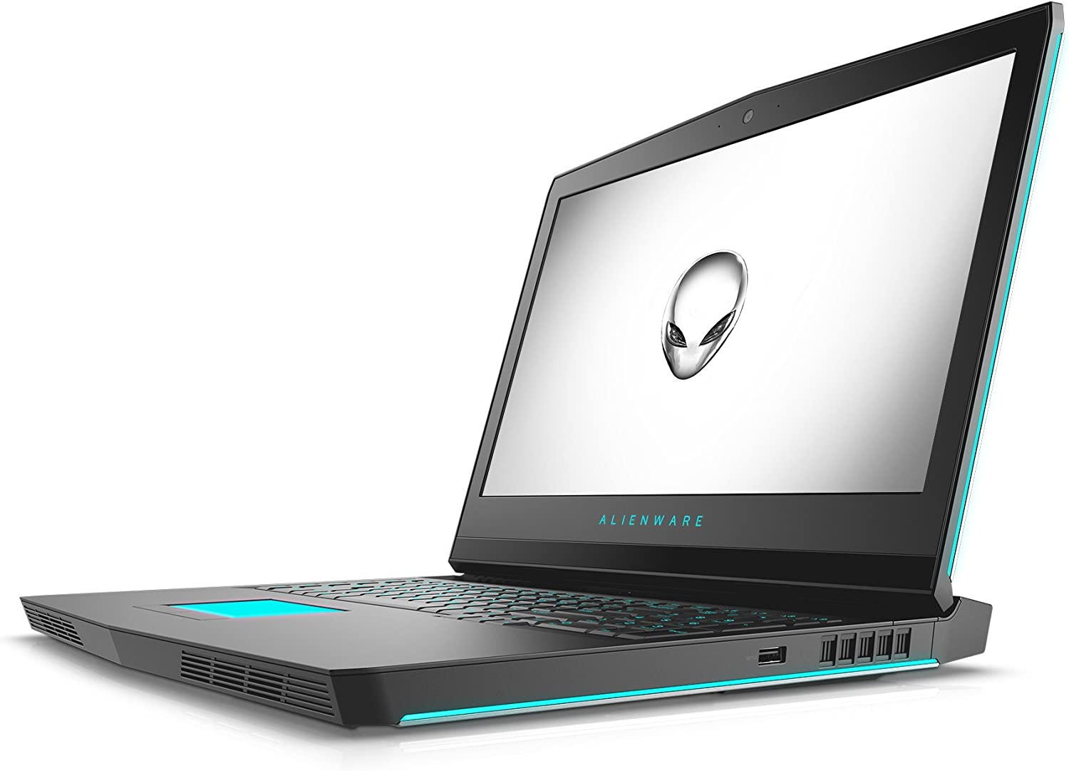 Alienware AW17R4-7345SLV-PUS 17in Laptop (7th Generation Intel Core i7, 16GB RAM, 1TB HDD, Silver) VR Ready with NVIDIA GTX 1070 (Renewed)
