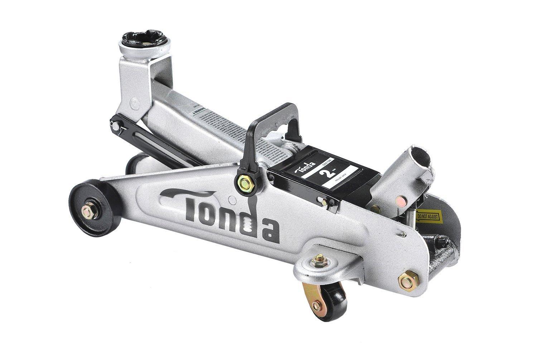 TONDA 2Ton Capacity Car Floor Jack Heavy Duty, Quick Lift(The max height 12 inches) by TONDA (Image #4)