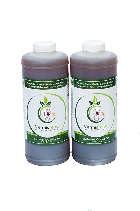 VermisTerra Earthworm Casting Tea 2 Quarts