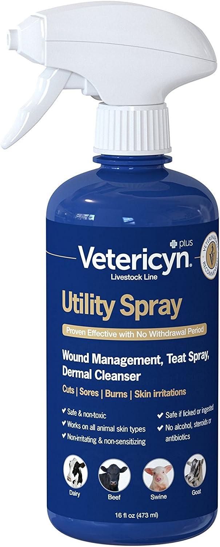 Vetericyn Plus Utility Spray - 16oz