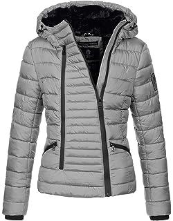0a0b902d852d Navahoo Damen Designer Winter Jacke warme Winterjacke Steppjacke Teddyfell  B656