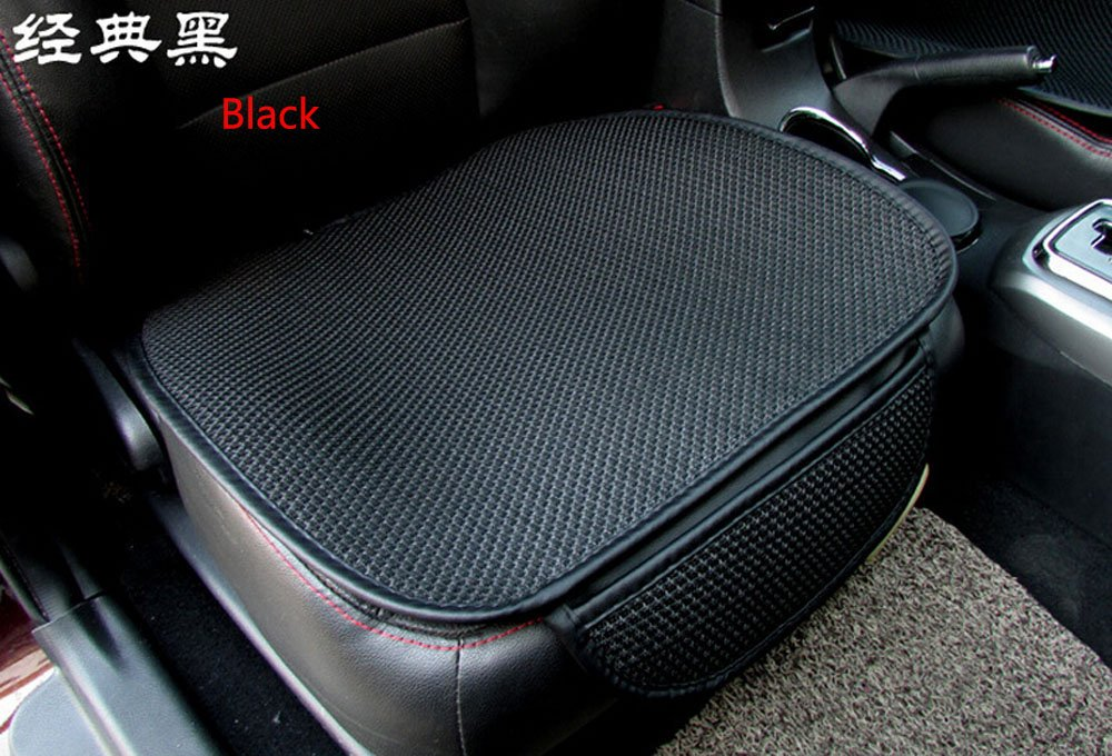 Four seasons general Ultrathin Antiskid Car Decoration Mats Seat cushion Seat Protector Cover Pad For Car Cushion Office Chair Black