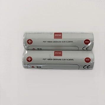 【クリックで詳細表示】ZHIYUN 純正18650交換用/予備充電池 リチウムバッテリーZHIYUN Weebill labジンバルスタビライザー用 PSE規格品 3.6V 2600mAh 2本入り