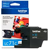 Brother Printer LC71C Standard Yield Cyan Ink by Brother