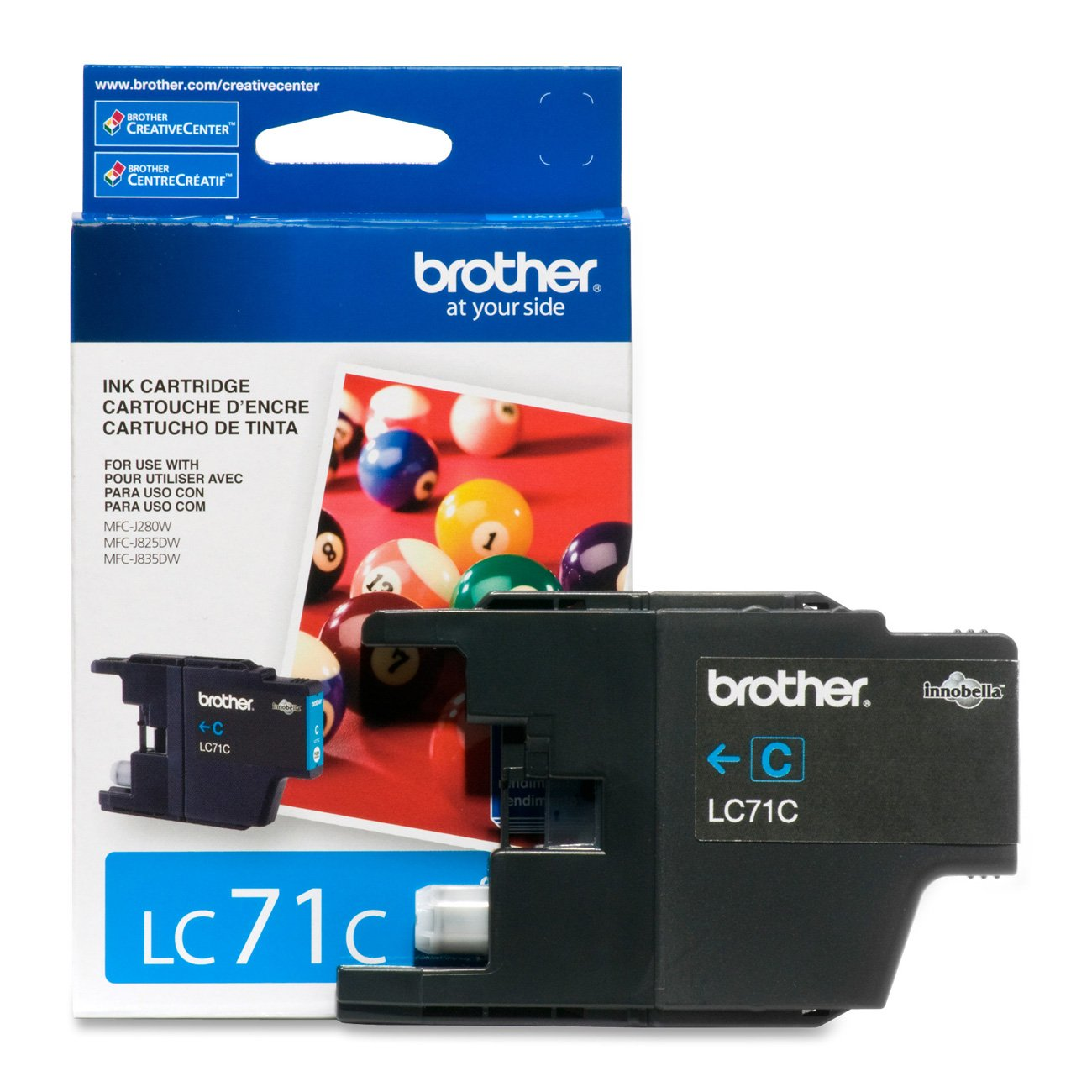 Amazon Brother Printer LC71BK Standard Yield Black Ink Office Products