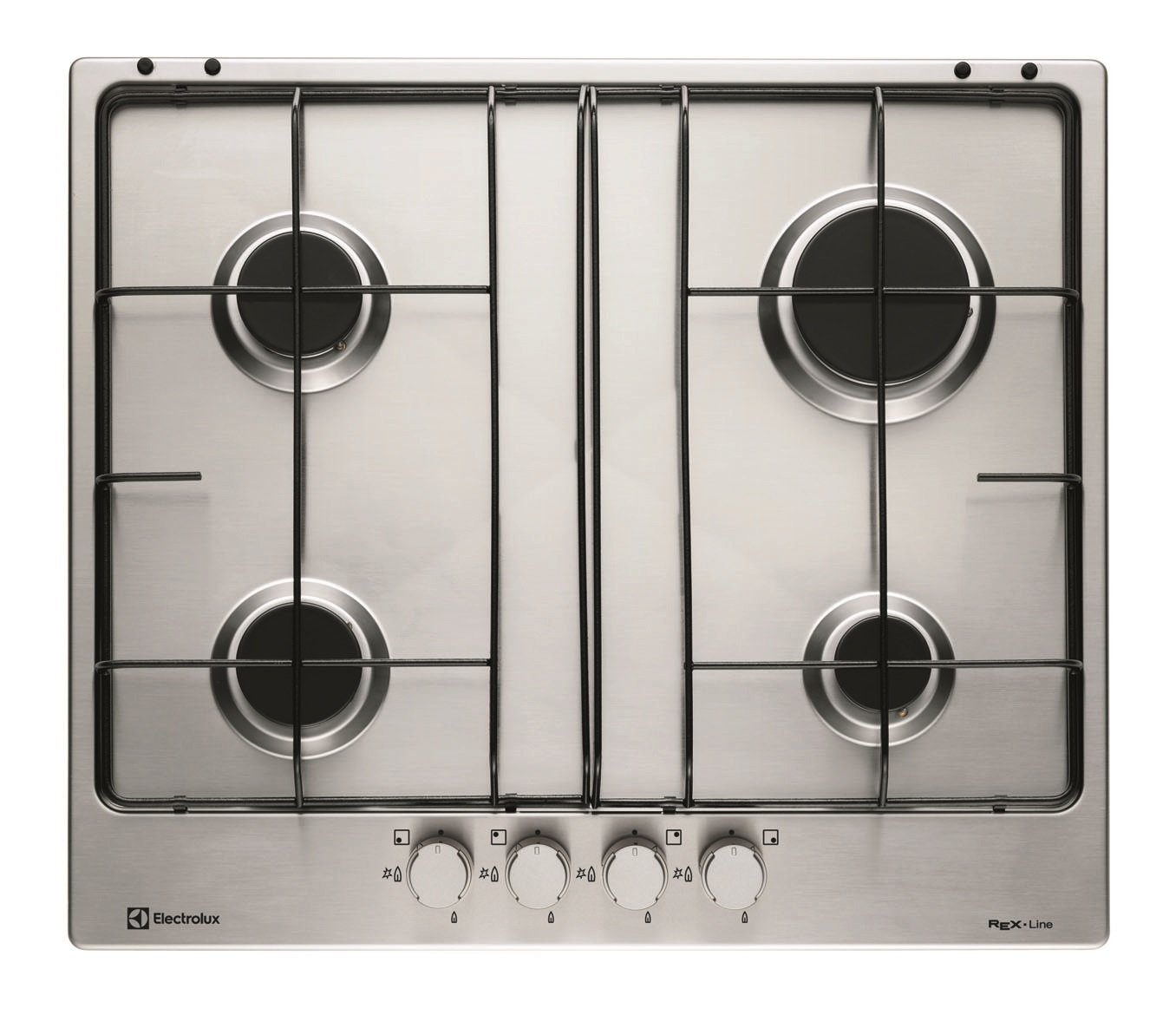 Electrolux RGG 6242 NVX built-in Gas Stainless steel - Hobs (Built ...
