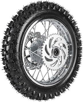"""1.85-12/"""" 15mm Axle 80//100 12 Rear Rim for 70cc 110cc 125cc Dirt Trail MX Bikes"""