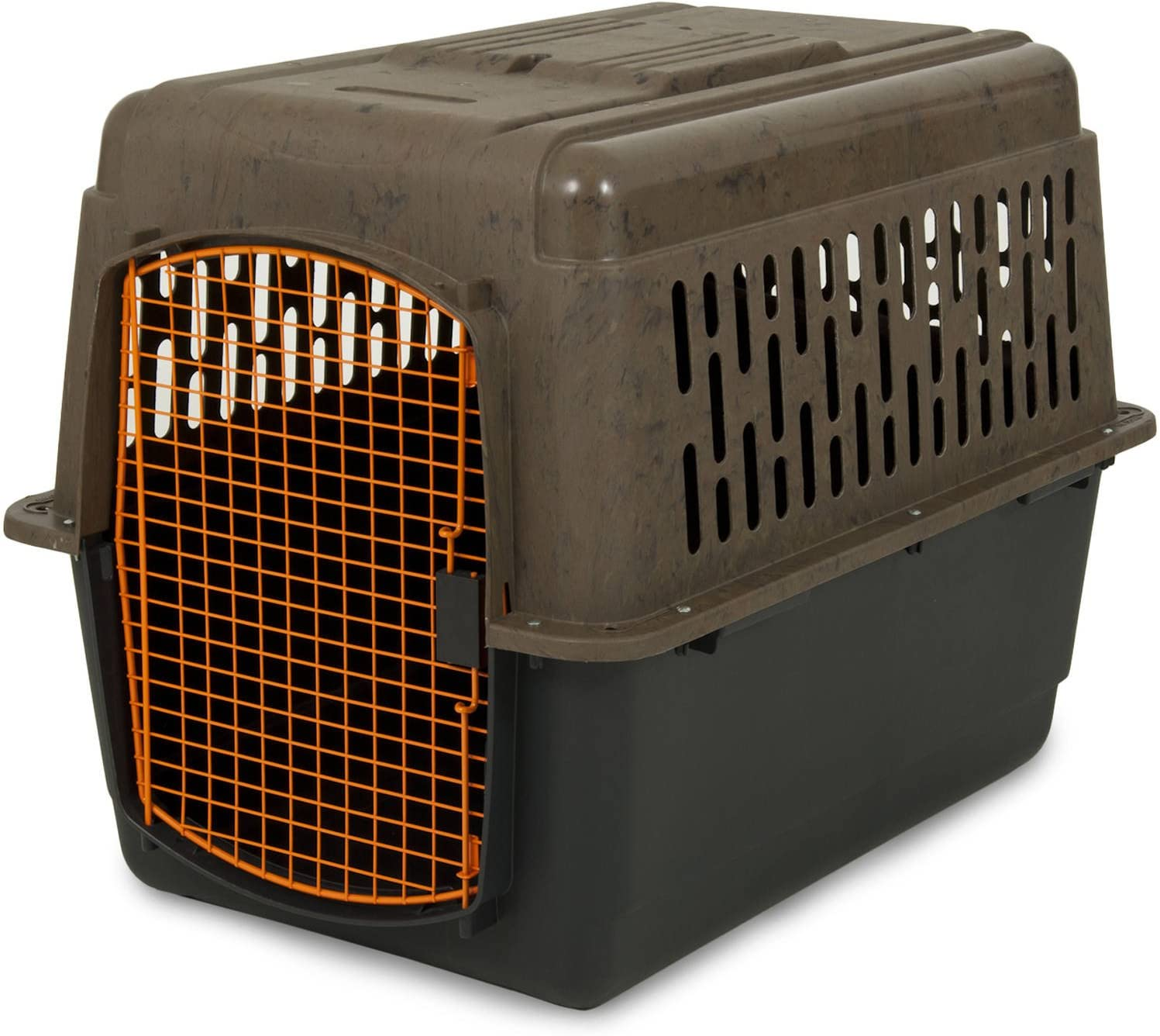 Ruff Maxx 36 Kennel for Dogs Weighing 50-70 lbs, Camo Orange