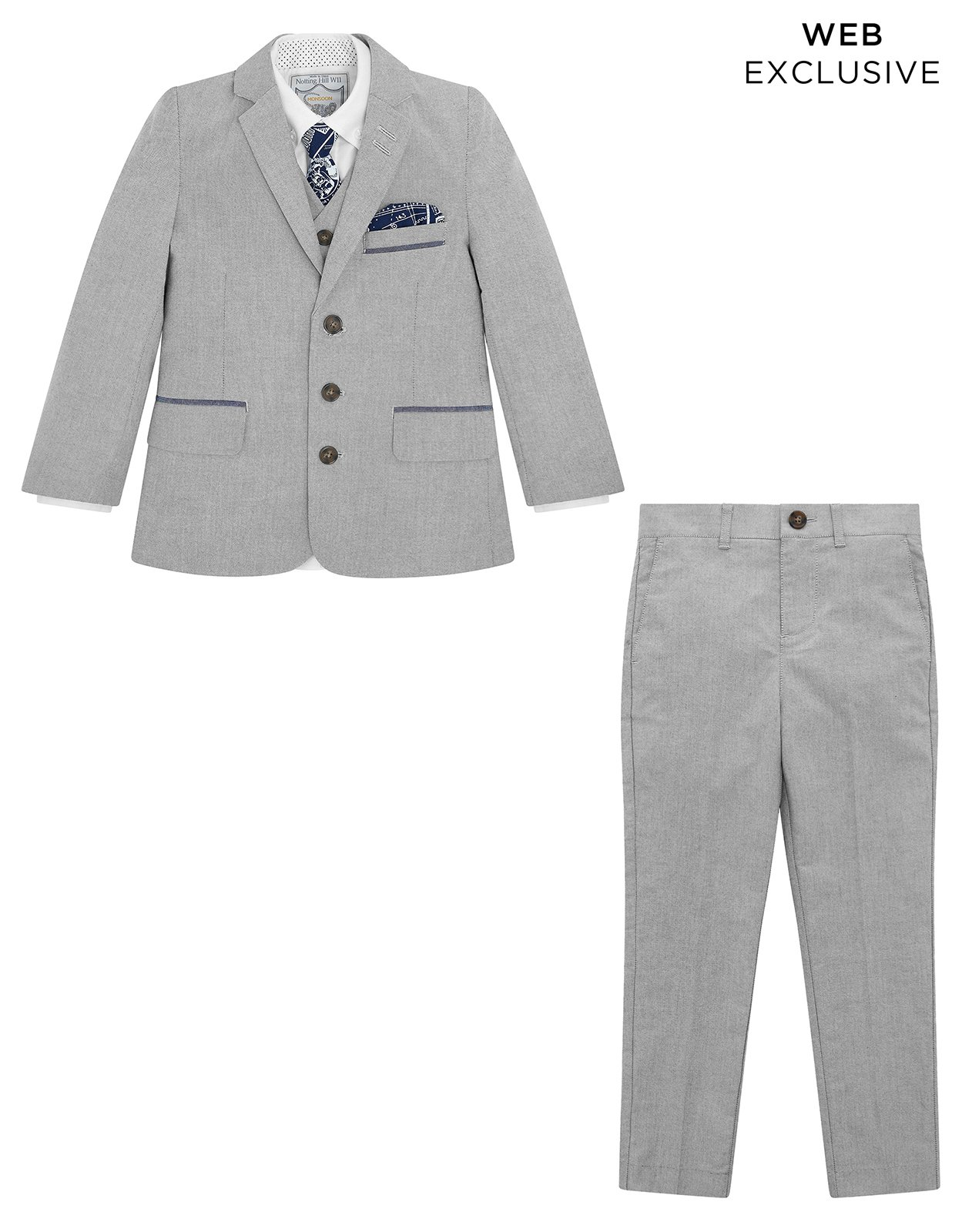 Monsoon Sterling 5PC Suit Set - boys - 4 Years