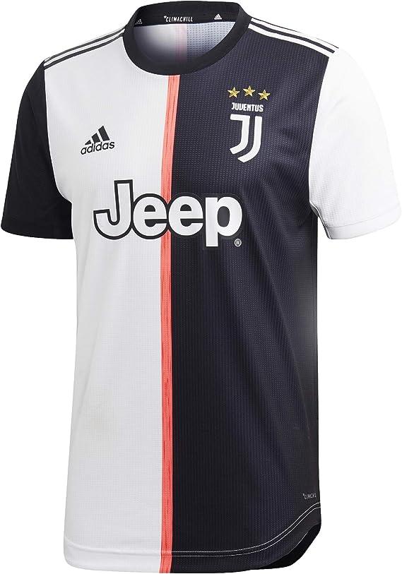 adidas Juventus Authentic Primera Equipación 2019-2020, Camiseta, Black-White: Amazon.es: Deportes y aire libre