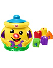 Fisher-Price H8179 Cookie Shape Surprise, Laugh and Learn Shape Sorter Baby Learning Toy with Numbers, Colours and Music, Suitable for 6 Months+