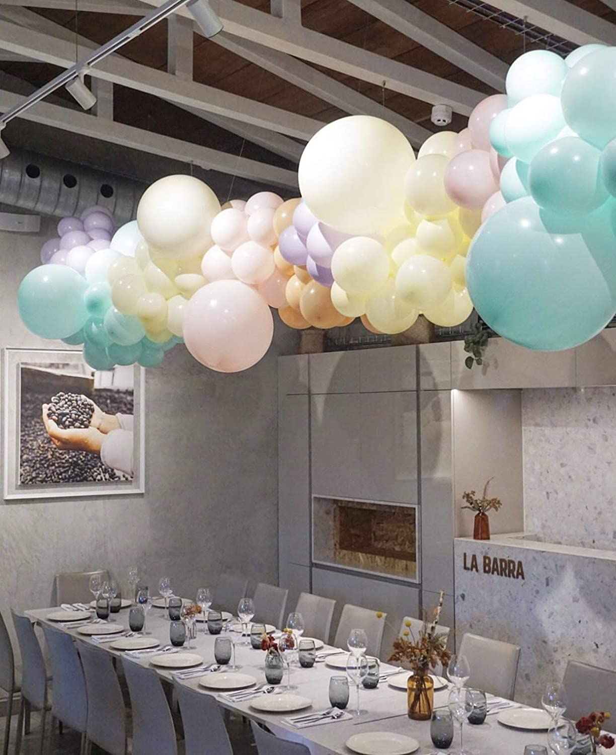 """Pastel Balloon Green//Mint Macaron Balloons 12/"""" 50 Pieces Great for Decorations Parties Birthdays Baby Showers"""
