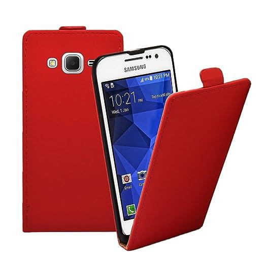 49 opinioni per Membrane- Ultra Slim Rosso Custodia per Samsung Galaxy Core Prime (SM-G360F)-