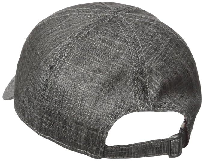 92ce8f643af730 Amazon.com: Ben Sherman Men's Textured Linen Baseball Hat, Platinum One  Size: Clothing