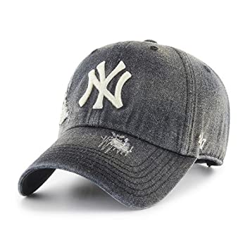 47 Gorra Clean Up Loughlin NY Yankees, Negro, Talla única: Amazon ...