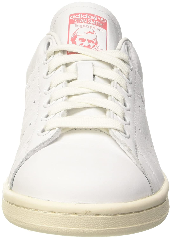 adidas Stan Smith, Scarpe da Ginnastica Uomo, Bianco (Ftwwht/Ftwwht/Raypnk),  47 1/3: Amazon.it: Scarpe e borse