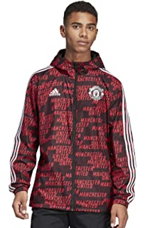 adidas Mens Manchester United Windbreaker