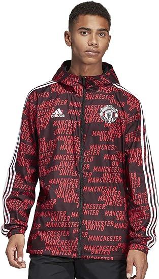 adidas Men's Manchester United Windbreaker