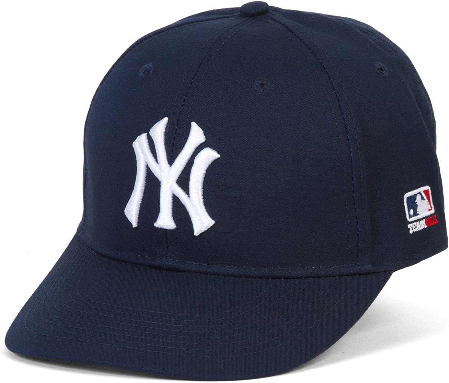 MLB Replica Adult New York YANKEES Home Cap Adjustable Velcro Twill : Sports Fan Baseball Caps : Clothing