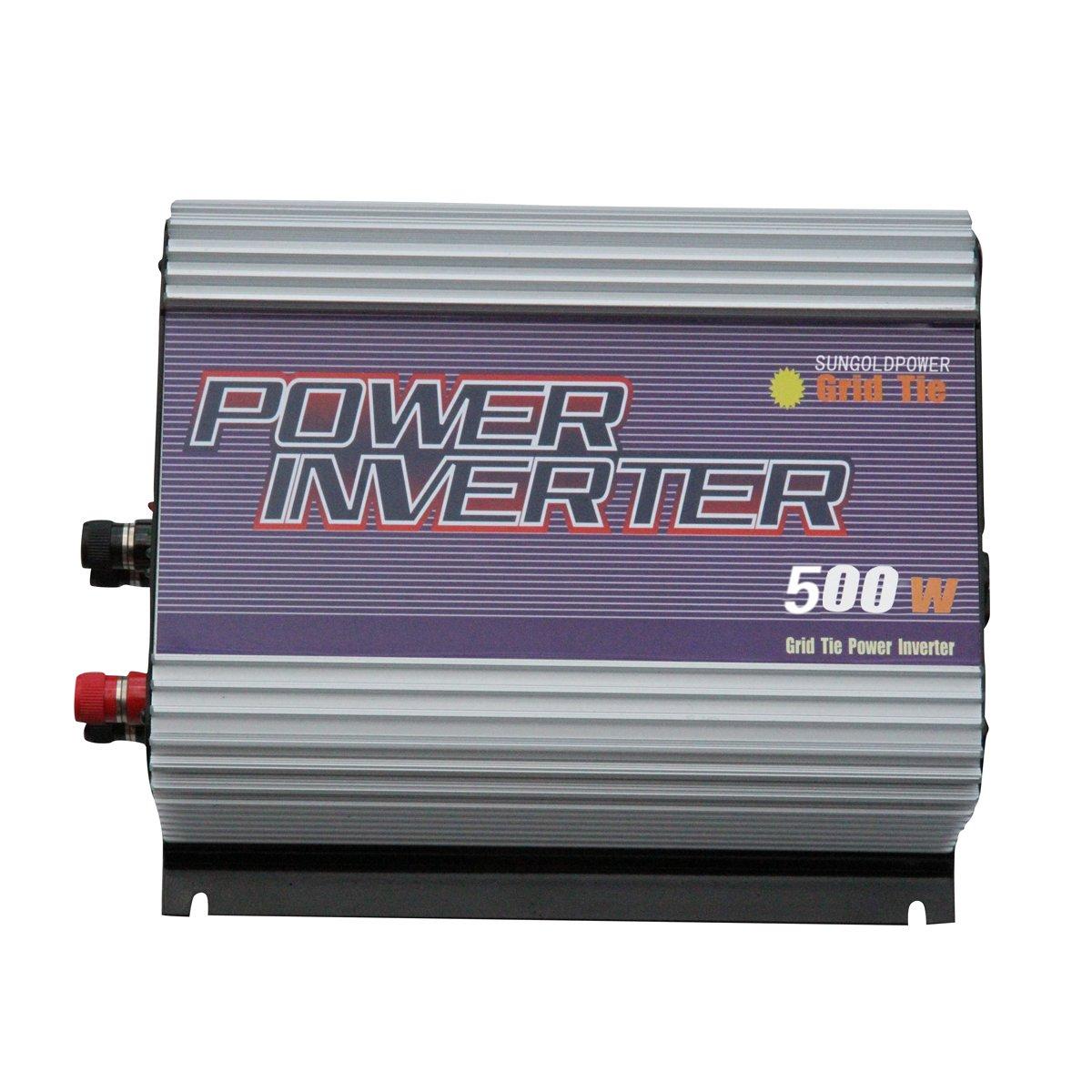 500W Grid Tie MPPT Power Inverter For Wind Turbine Generator System DC 22V-60V AC 230V Converter SUNGOLDPOWER